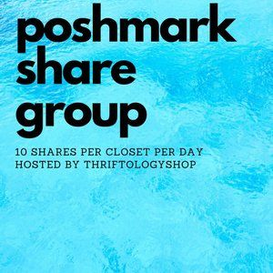 Weekly Poshmark Share Group 10 Listings Per Day